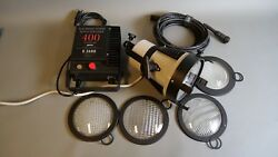 K5600 Joker Bug 400W HMI Head with ballast lenses bulbs & more. GREAT SHAPE!