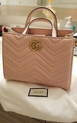 NEW Gucci Marmont Top Handle Bag Small RARE COLOR