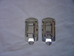Case hardware new surface mount latches pair