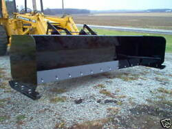 Linville 16and039 Snow Pusher Loader Plow Lifetime Warranty American Made Usa