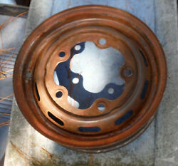 Vintage 5-hole Volkswagon Wheel With Pitting May Need Reconditoning