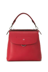 Fendi Back To School Backpack (Red; Leather)