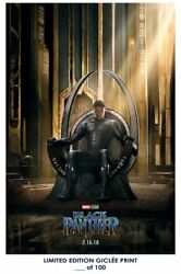 Black Panther Movie Poster Living Room Decor Wall Stickers Art Printing 11