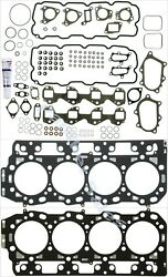 2001-2004 GMC Chevy Duramax 6.6L Head Set and Gaskets Pair 2 .95MM Thick