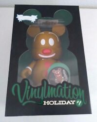 Disney Vinylmation 1 Holiday Mickey Christmas Gingerbread Le 800 9 Large