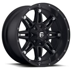 20 20x9 Fuel Hostage Black Wheels 33 Conti At Tires Package 6x135 Ford F150