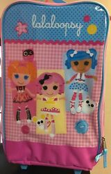 Fab StarPoint Lalaloopsy Kids Backpack on Wheels Pink $21.84