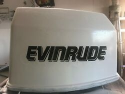 2 - Evinrude V6 Outboard Decals Marine Vinyl Pick Your Hp 90 - 200 Hp
