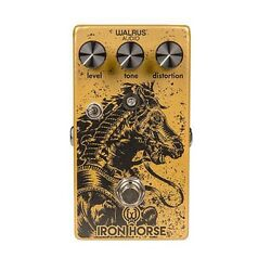 Walrus Audio Iron Horse V2 Distortion True Bypass Guitar Effects Pedal Lm308