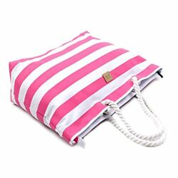 New Bag And Carry Perfect Beach Bag For Holidays Waterproof Lining Free Shipping