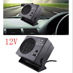 2 in 1 Portable Car SUV Auto Van Fan Heater Warmer Window Defroster Demister 12V