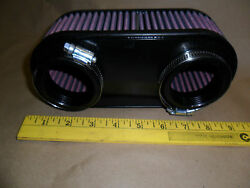 Air Filter Fits Rotax 503 W/dual Bing Carb Hovercraft Or Ultralight Pn 8528f