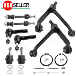 8pcs Upper Control Arm W/ Lower Ball Joint Kit For 2002-2005 Dodge Ram 1500 2wd