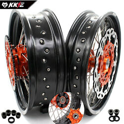Kke 3.5/4.517 Supermoto Cush Drive Wheel Rims Fit For 125-530 Xcw Sxf Exc 2021