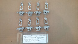 15mm Mini Figs Agincourt The 100 Years War Mounted Knights W/ Swords And Ax