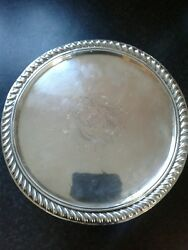 Very Rare Queen Anne Exeter Tazza C.1695 By John Elston