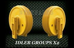 2024296 7t6996 Idler Gp X2 Replacement W/ Brackets For Cat D6h Dozer