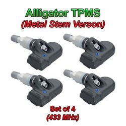Alligator Oem German Cloneable Tpms Sensors Set Of Four 434 Mhz Free Shipping