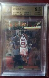 97 98 Michael Jordan Ud3 Awesome Action A1 Bgs 9.5 Upper Deckpop 10