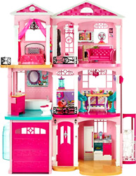 Barbie Dream House Fashion Doll Playset Interactive Furniture Girls Play Toy New