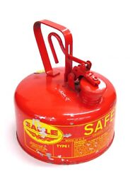 Nos Eagle 1-gallon Type 1 Safety Gas Can, Ui-10s, Metal Handle