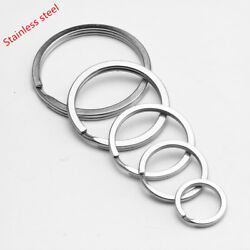 Wholesale Stainless Steel Elastic Key Ring Keychain 1 To 10000pcs