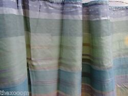 LOT OF 4 - (Pattern Q) - HOSPITAL PRIVACYCUBICLE CURTAINS - FLAME RETARDANT