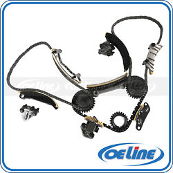 Timing Chain Kit For 04-06 Suzuki Buick Saab Cadillac Cts Srx 3.6l 24v Dohc