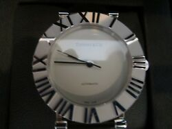 Authentic And Co. Sterling Round Automatic Watch Dial 34 Mm New,box, Case