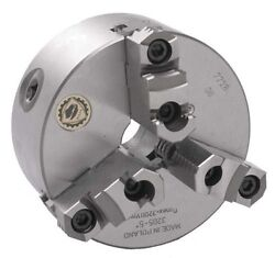 12 Bison 3 Jaw Lathe Chuck Direct Mount D1-8 Spindle
