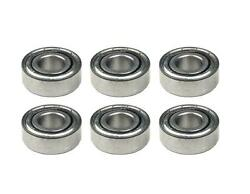 6 Bearings Fit Trail Mate E-z Roll Hogg 11109 Dixon 6011 Lawn Mower Tractor