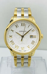 Versace Men's Vqs050015 Business Two-tone Stainless Steel Watch, Vqs