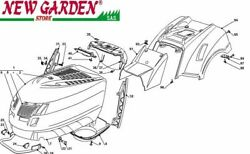 Exploded Body Parts 40 3/16in Pt140 Mower Lawn Mower Castelgarden 2002-13 Parts