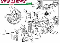 Transmission Exploded View Mower Lawn Mower El63 Xe75vd Castelgarden Parts
