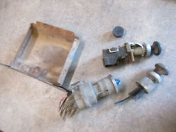 1967 Chevrolet Pickup Ignition Headlight Wiper Switch Lighter Delete And Ashtray
