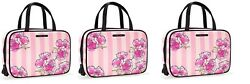 LOT OF 3 VICTORIA'S SECRET COSMETIC MAKEUP HANGING BAG TRAVEL TRAIN CASE NWT
