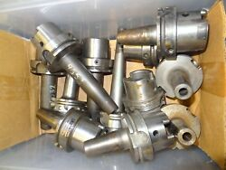 Lot Of 12 Hsk 83 A Thermo Heat Schrinker Tool Holders Gewefa Guhring Seco