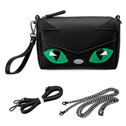 BMC Cute Kitty Animal Face Purse for Girls Teens Women Cosplay - 3 Detachable S