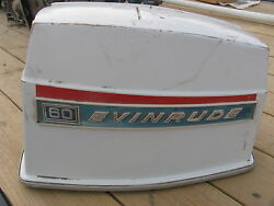 Johnson Omc Evinrude 60 Hp Outboard Hood Cowl Cover