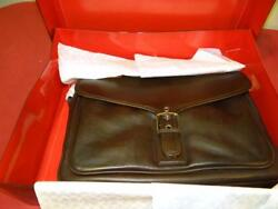 Coach Logan Brown Leather Briefcase Bag J23-5238 New With Tags + Box LC4662