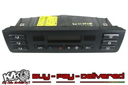 2002 BMW E46 3 Series 2.0 Petrol Heater / Climate Control Pad Buttons - KLR