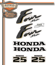 Honda 25hp 4 Stroke Decals/stickers Quality Product