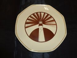 Vintage Shenango China Lighthouse Anchor Hocking Plate