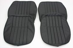 Porsche 356 A/b/c Coupe Cabriolet Roadster Leather Front Seat Cover Set