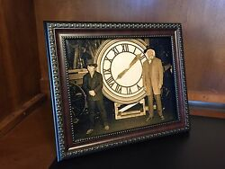 Back To The Future - Marty And Doc With The Clock Photo Prop Reproduction 8x10