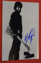 Bruce Springsteen Signed Autographed 12x18 Photo Poster Flawless Psa/dna Coa