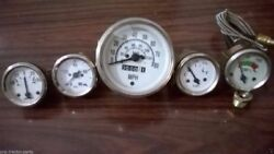 Willys Mb Jeep Ford Gpw Cj - Speedometer Temp Oil Fuel Ampere Gauge Kit- A 1