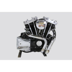V-twin Chrome Laf Exhaust Set For 1957-1985 Harley Ironhead Sportster