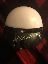 Al Unser Signed Adult Full Size Open-faced Helmet New Autographed Indy 500
