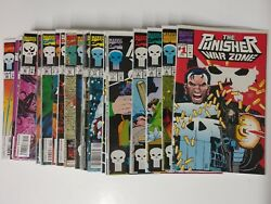 Avengers Comic Lot The Punisher War Zone 1-31 33-37 And More Nm Bagged Boarded